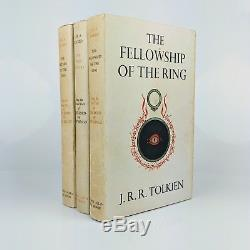 J. R. R. Tolkien Lord of the Rings Set of First Edition, Eighth Impressions