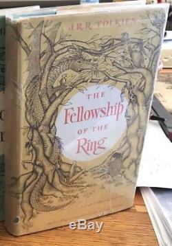 J. R. R. Tolkien THE LORD OF THE RINGS 1st U. S. 1st Printing FELLOWSHIP OF RING