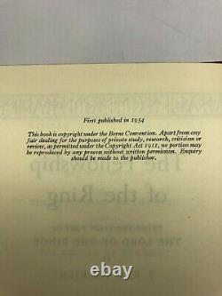 J. R. R Tolkien The Lord of the Rings All First Editions with Original Wrappers