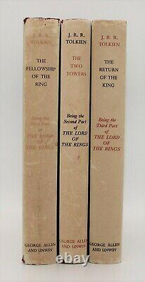 J. R. R. Tolkien, The Lord of the Rings, First Edition, 1961/62 Set imp 11, 9, 9