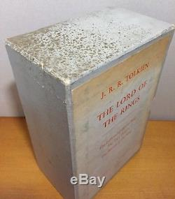 J. R. R. Tolkien The Lord of the Rings UK First Edition Boxed Set, 1961, VG+