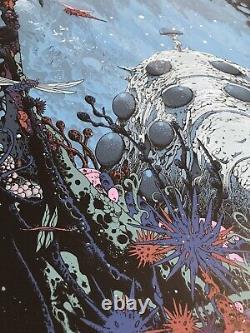 Kilian Eng Nausicaa of the Valley Wind Print Ghibli Movie Mondo Lord Rings Jaws