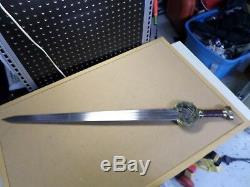 King Theoden, Herugrim sword/UC1370/United Cutlery/Lord of the Rings/Eowyn/LOTR