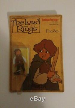 Knickerbocker Lord of the Rings Frodo Action Figure 1979 Unpunched Vintage Rare