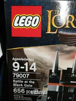 LEGO 79007 Lord of the Rings Battle at the Black Gate 656 pcs NIB Sealed 2013