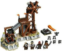 LEGO 9476 Lord of the Rings Orc Forge 100% Complete with Box, Minifigs, & Manual
