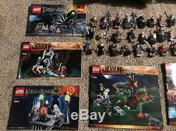 LEGO Lord Of The Rings Hobbit Minfigures And Sets Lot