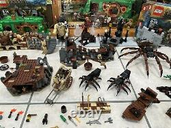 LEGO Lord Of The Rings LOTR and Hobbit Lot Sets Minifigures Boxes Instructions