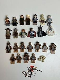 LEGO Lord Of The Rings/ The Hobbit Minifigure Lot (25 Figures)