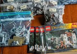 LEGO Lord of the Rings Battle of Helm's Deep (9474) BONUS 9471-1 Uruk-Hai Army