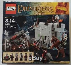 LEGO Lord of the Rings Herr der Ringe 9471 Uruk-Hai Armee Neu & OVP new sealed