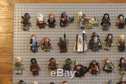 LEGO Lord of the Rings Hobbit Minifigures Lot (46 minifigs) and accessories