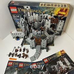 LEGO Lord of the Rings Set 9474 The Battle Of Helm's Deep 100% Complete Boxed