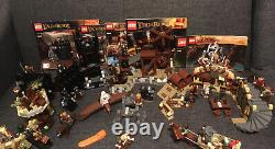 LEGO Lord of the Rings / The Hobbit Lot 6- 100% Complete & Original Instructions