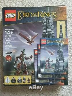 LEGO Lord of the Rings The Tower of Orthanc (10237) USED 100% Complete