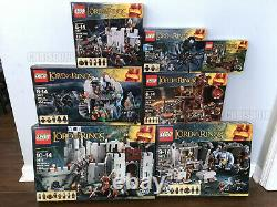 LEGO Lord of the Rings wave 1 LOT 9474 9473 9472 9471 9470 9469 9476 NEW SEALED