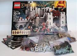 LEGO The Lord of the Rings The Battle of Helm's Deep (9474) 100% complete