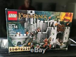 LEGO The Lord of the Rings The Battle of Helm's Deep (9474) New Open Box