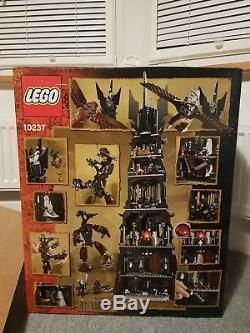 LEGO The Lord of the Rings Tower of Orthanc (10237) Rare retired collectable