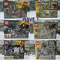 LEGO The Lord of the Rings brand-new, unused, unopened item Complete Set 12 box