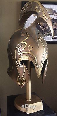 LORD OF THE RINGS ELVIN HIGH Warriors helmet movie prop replica