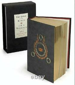 LORD OF THE RINGS J. R. R. TOLKIEN 50th ANNIVERSARY EDITION SLIPCASED GIFT ED