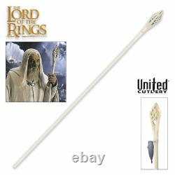 LORD OF THE RINGS Staff Gandalf the White FULL SIZE United Cutlery LOTR UC1386