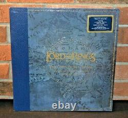 LORD OF THE RINGS THE TWO TOWERS Soundtrack, Ltd 5LP BLUE VINYL BOX SET New