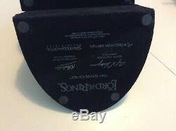 LORD OF THE RINGS Weta Sideshow NO ADMITTANCE Bookends Gandalf Bilbo