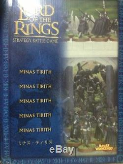 LOTR Lord of The Rings Minas Tirith Castle, Warhammer, Games Workshop