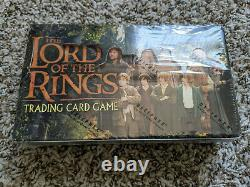 LOTR Lord of the Rings TCG Fellowship of the Ring FOTR Booster Box Sealed