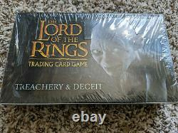 LOTR Lord of the Rings TCG Treachery and Deceit T&D Booster Box Sealed