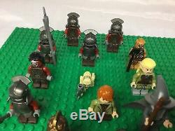 Lego Hobbit Lord of the Rings Minifigures Lot 18 Goblins, Orcs, theoden, & More