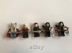 Lego Lord Of The Rings Hobbit Thorin Legolas Gandalf Uruk-Hai Minifigures Lot +