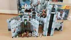 Lego Lord of the Rings 9474 The Battle of Helm's Deep 100% complete, box, instru
