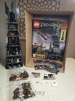 Lego Lord of the Rings LOTR Tower of Orthanc 10237 COMPLETE FREE SHIP NO RESERVE