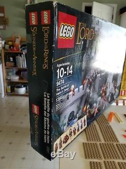 Lego Lord of the Rings Set #9474 Battle of Helm's Deep. Complete with figs