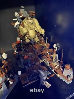 Lego Lord of the Rings The Hobbit 79010 Goblin King Battle with Minifigs & Instruc