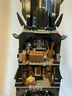 Lego Lord of the Rings The Tower of Orthanc (10237) -Used- Complete Set -RETIRED