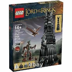 Lego Lord of the Rings Tower of Orthanc (10237) NEW Factory Sealed FREE SHIP