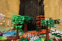 Lego Lord of the Rings Tower of Orthanc CUSTOM lotr 10237 Huge Model collectible