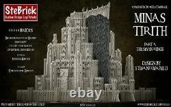 Lego MOC Minas Tirith The Lord Of The Ring PDF Instructions