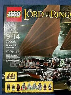 Lego The Lord of the Rings Pirate Ship Ambush 79008 New Sealed in Box Retire