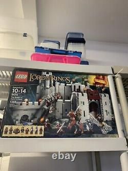 Lego The Lord of the Rings The Battle of Helm's Deep (9474) (BARELY USED)