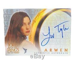 Liv Tyler Authentic Autographed Lord Of The Rings Topps Collectible Movie Card