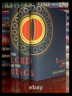 Lord Of The Rings 3 Volume Trilogy Set by Tolkien New Hardback Custom Gift Set B