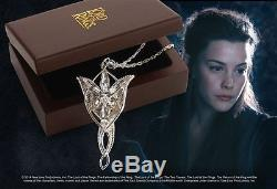 Lord Of The Rings Arwen Evenstar Pendant Stirling Silver Noble Collection