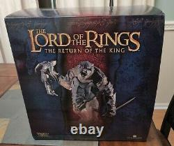 Lord Of The Rings Battle Troll Of Mordor Statue Sideshow Weta Return Of The King