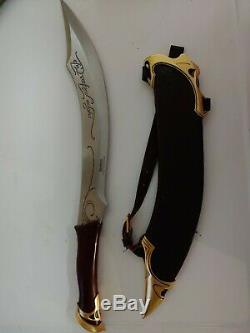 Lord Of The Rings Elven Knife Of Strider UC1371 United Cutlery Discontinued