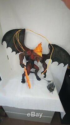 Lord Of The Rings Figure Balrog Neca Toybiz Scale